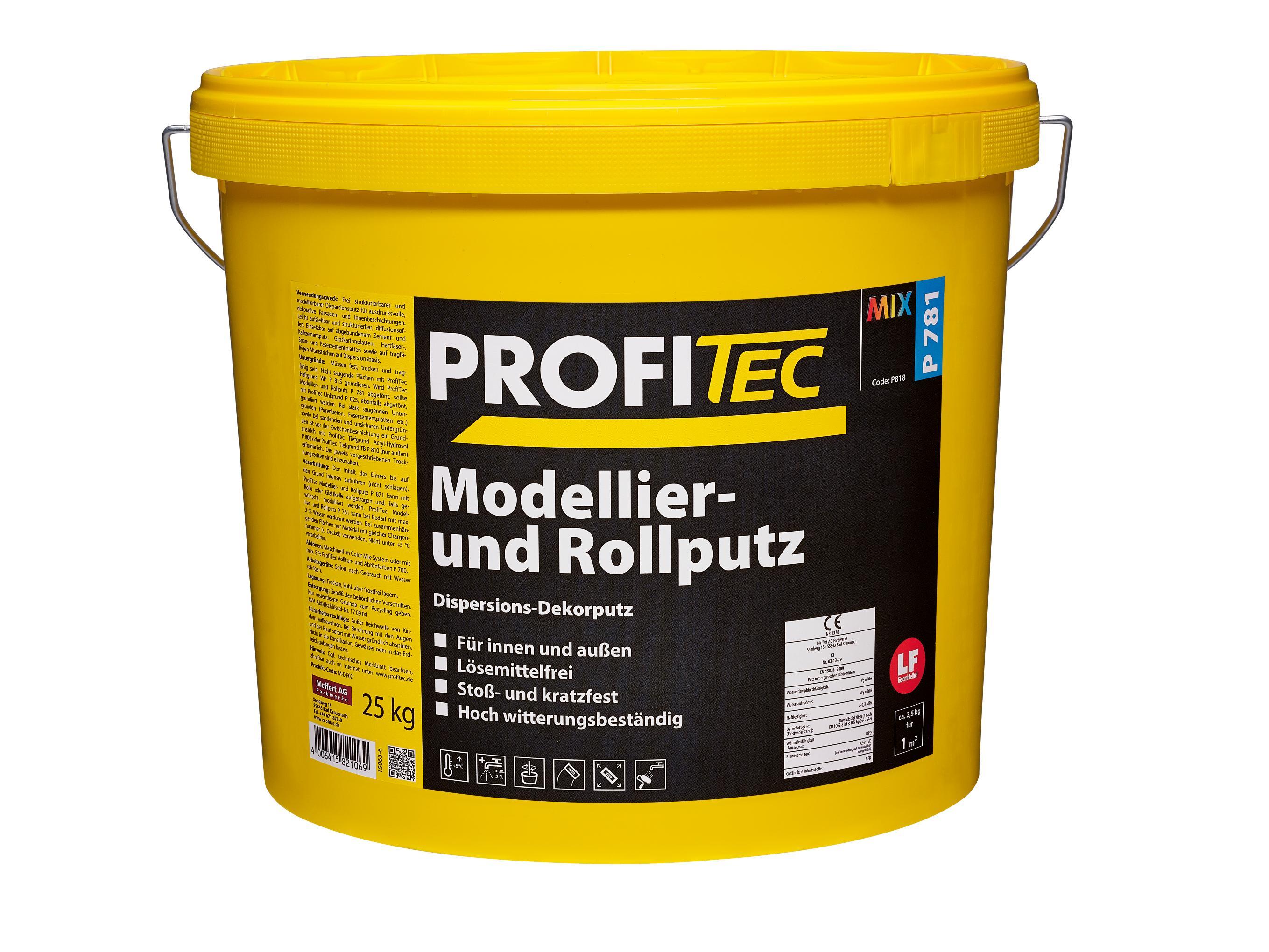 Beliebt P 781 Modellier- und Rollputz FE67