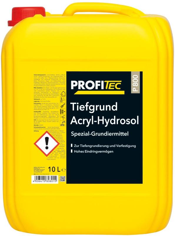 p 800 tiefgrund acryl-hydrosol