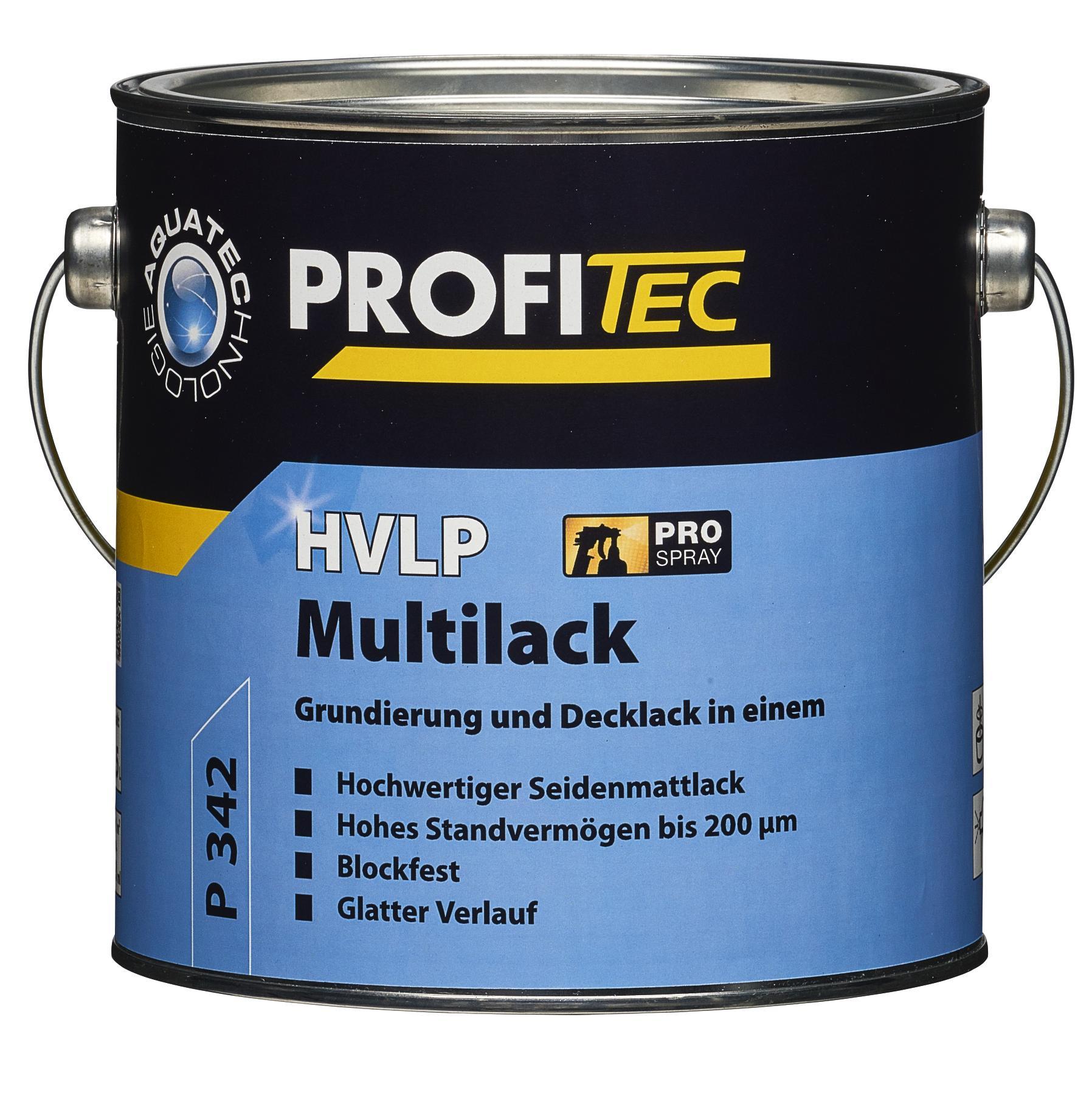 PROFITEC P 342 HVLP Multilack weiß 2,5L - Grundierung und Decklack, spritzfertig -